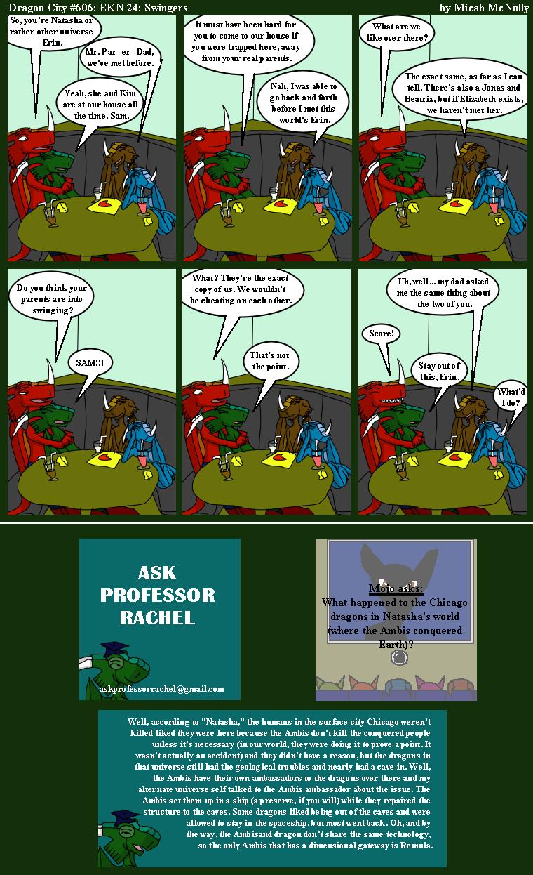 606. EKN 24: Swingers (With Ask Professor Rachel 139)