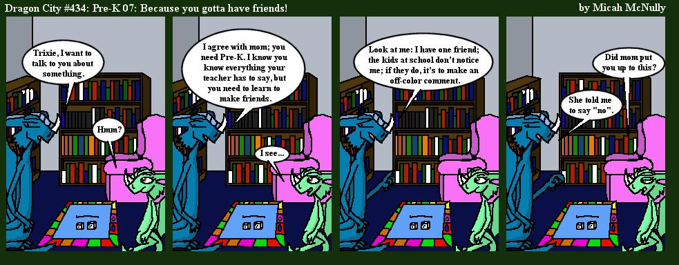 434. Pre-K 07: Because you gotta have friends!