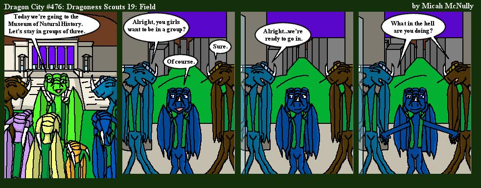 476. Dragoness Scouts 19: Field