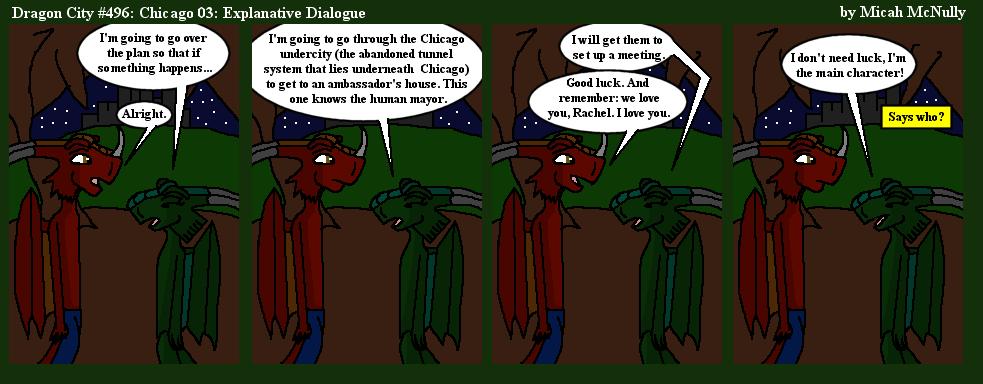 496. Chicago 03: Explanative Dialogue