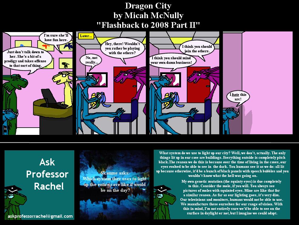 261. Flashback to 2008 part II (With Ask Professor Rachel 24)