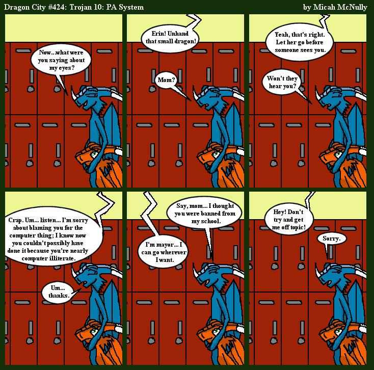 424. Trojan 10: PA System