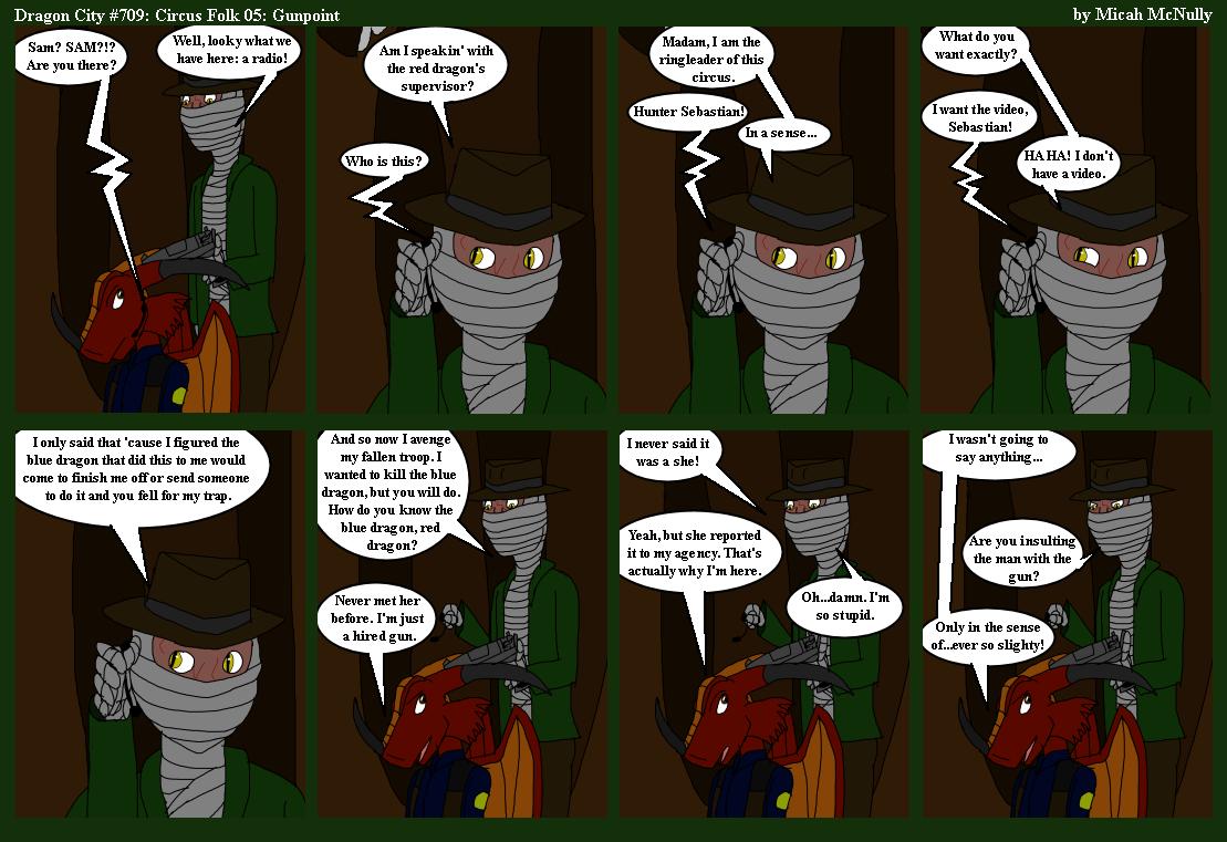 709. Circus Folk 05: Gunpoint