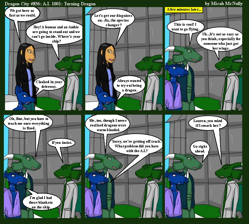 856. A.I. 1001: Turning Dragon