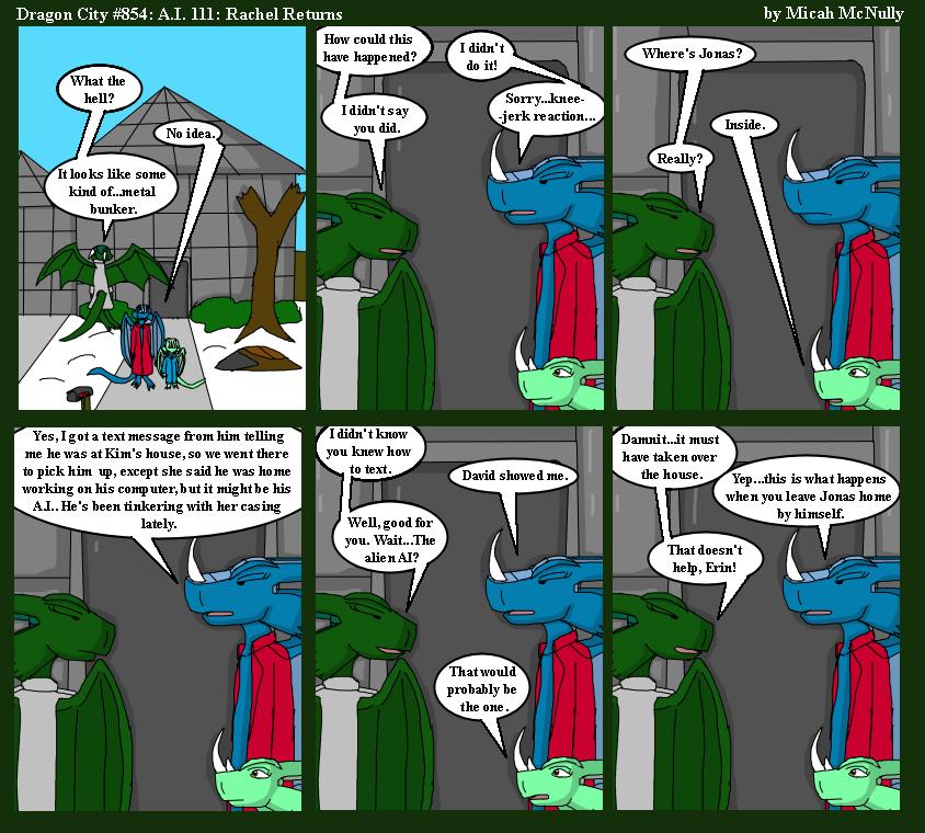 854: A.I. 111: Rachel Returns
