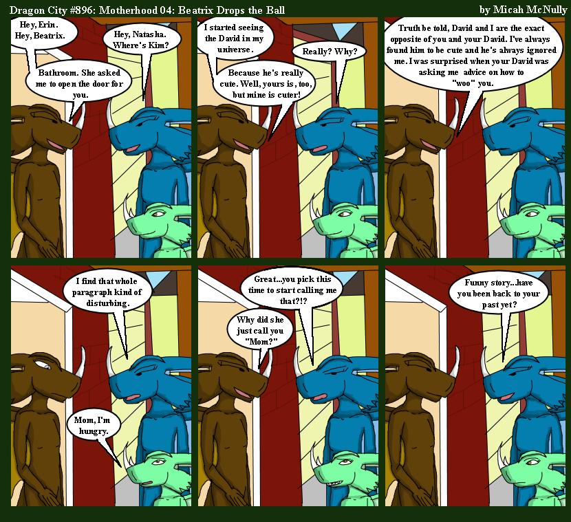 896. Motherhood 04: Beatrix Drops the Ball