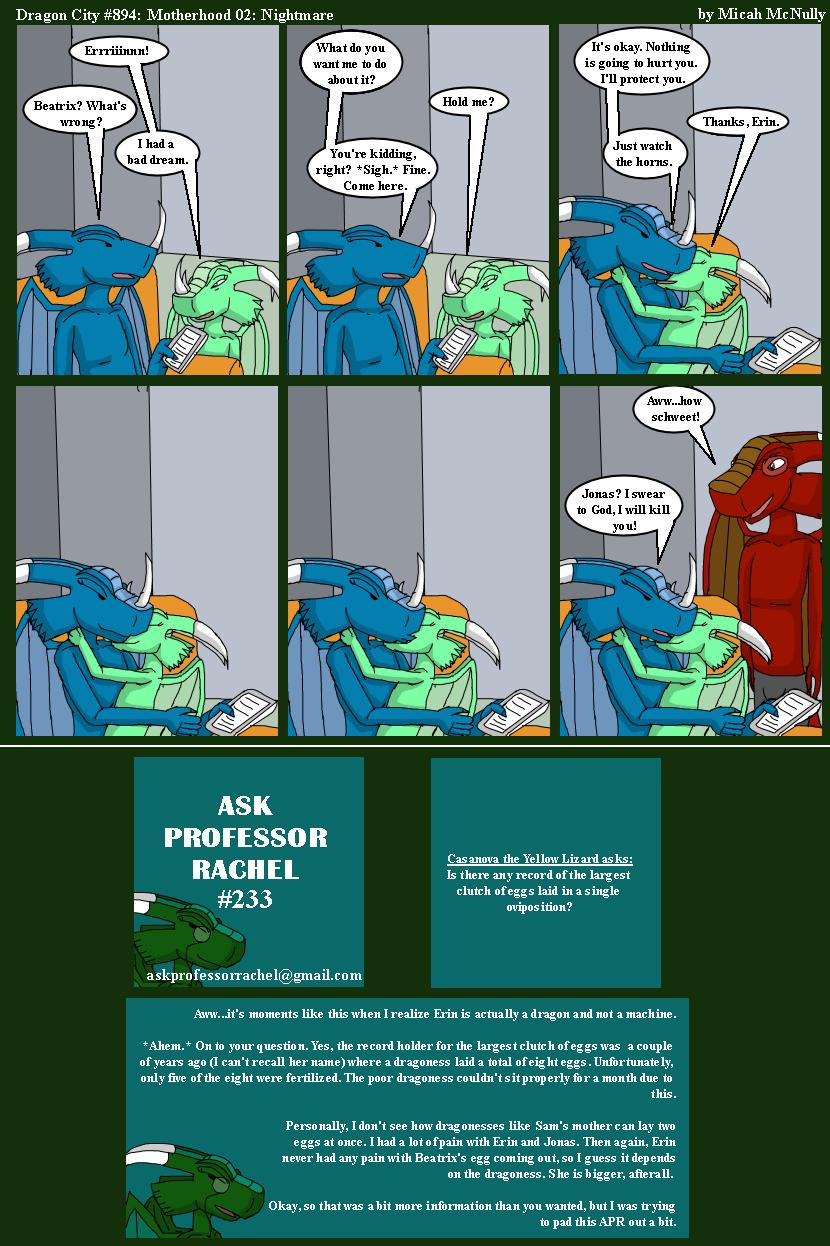 894. Motherhood 02: Nightmare (With Ask Professor Rachel 233)