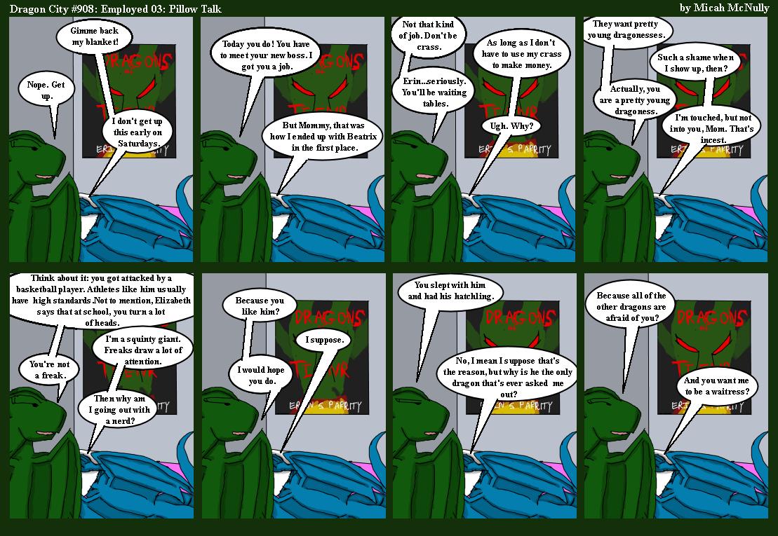 908. Employment 03: Pillow Talk