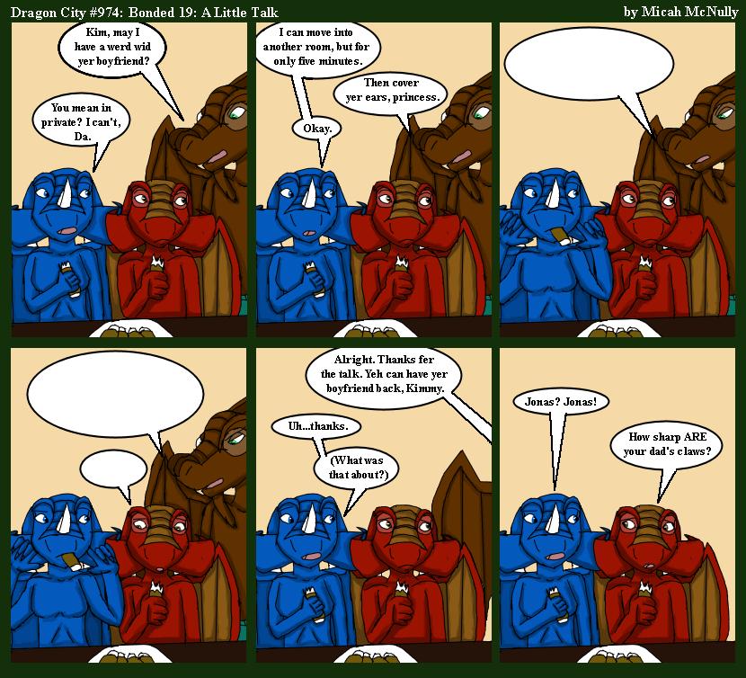 974. Bonded 19: A Little Talk