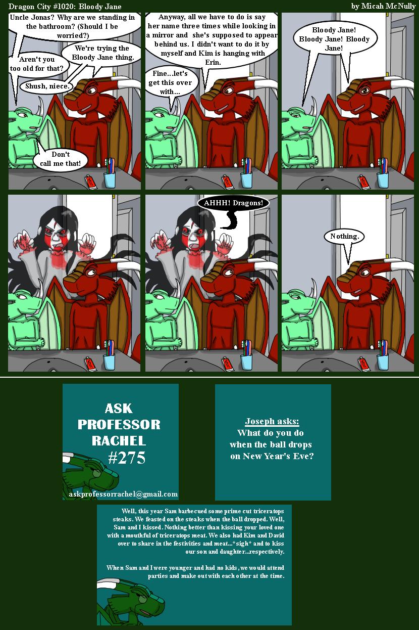 1020. Bloody Jane (With Ask Professor Rachel #275)