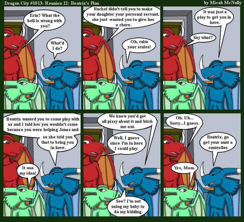 1013. Reunion 12: Beatrix's Plan
