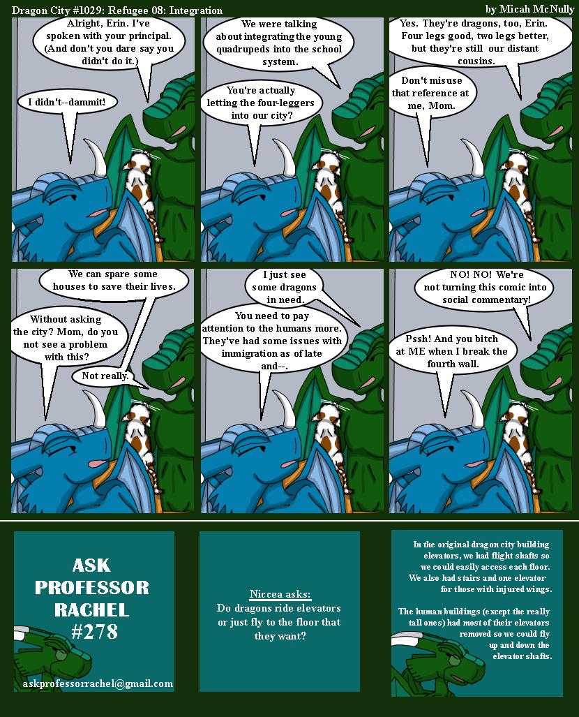 1029. Refugee 08: Integration (With Ask Professor Rachel #278)
