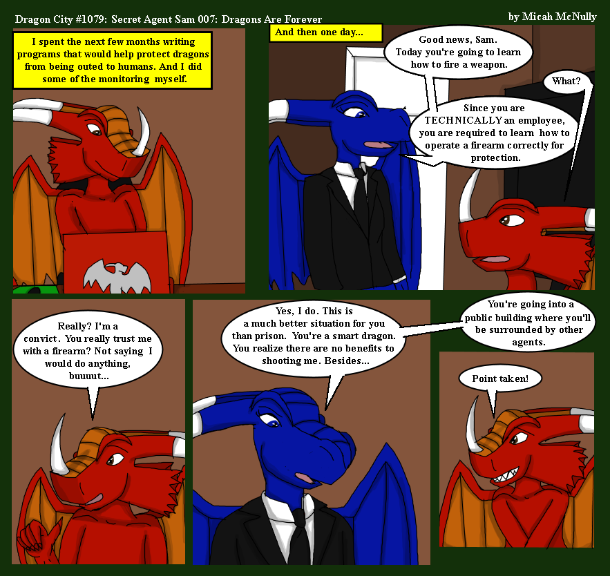 1079. Secret Agent Sam 007: Dragons Are Forever