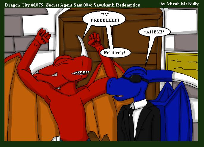 1076. Secret Agent Sam 004: Sawskank Redemption