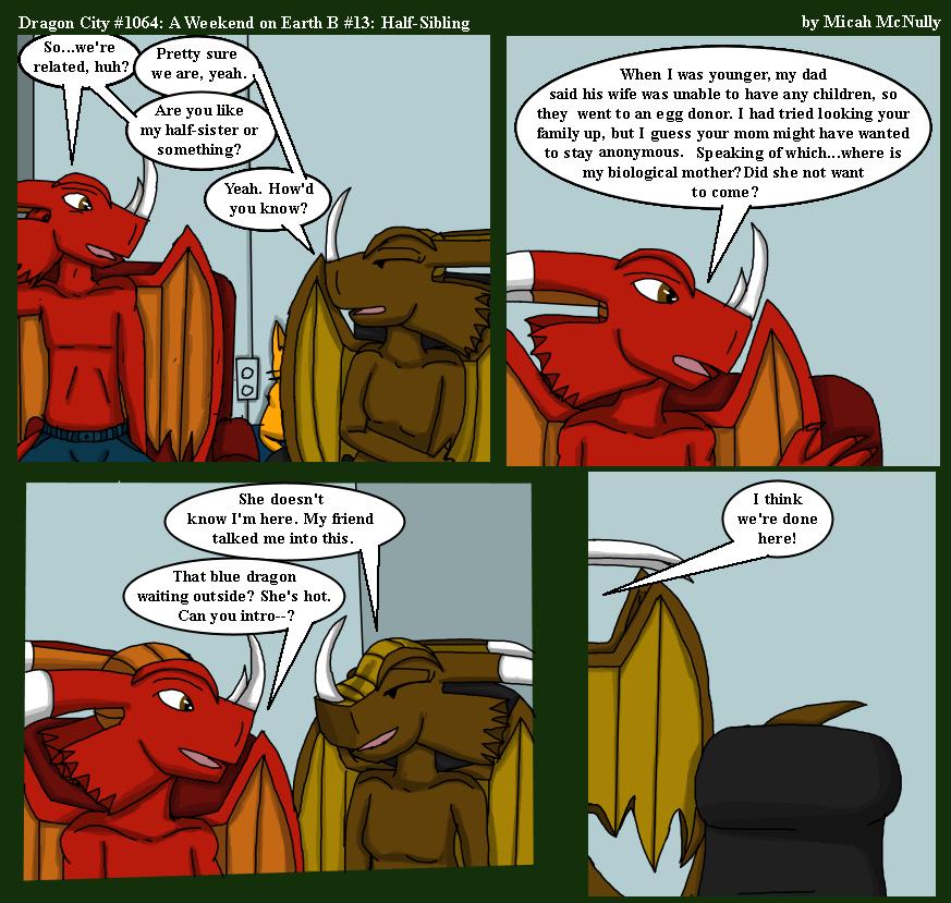 1064. A Weekend on Earth B #13: Half-Siblings