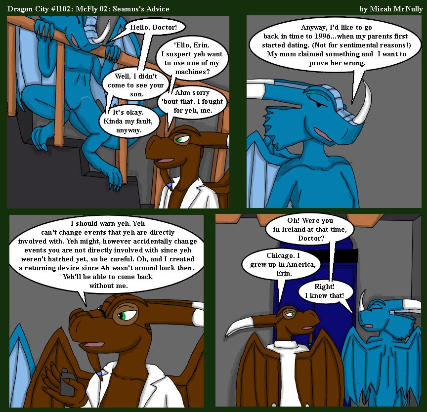1102. McFly 02: Seamus's Advice