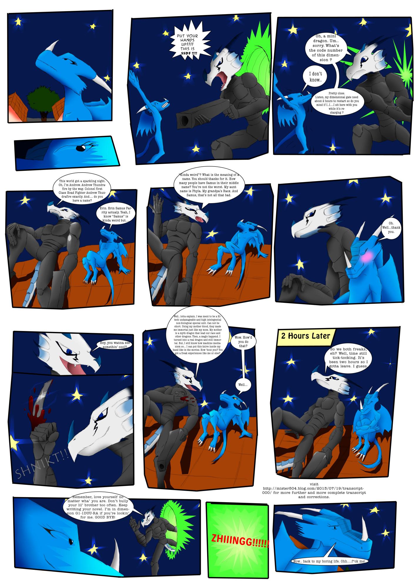 1125. Guest Comic by Isaac Zamar Tehilah