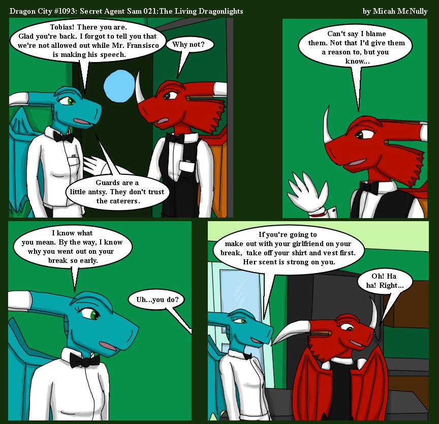 1093. Secret Agent Sam 021: The Living Dragonlights