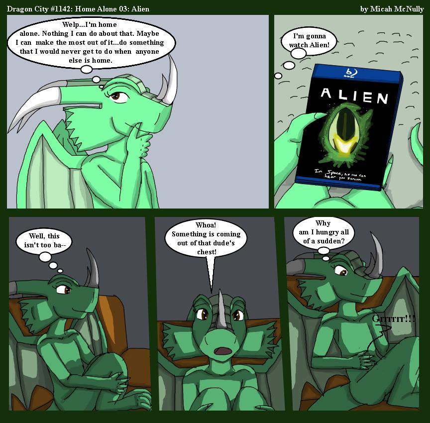 1142. Home Alone 03: Alien