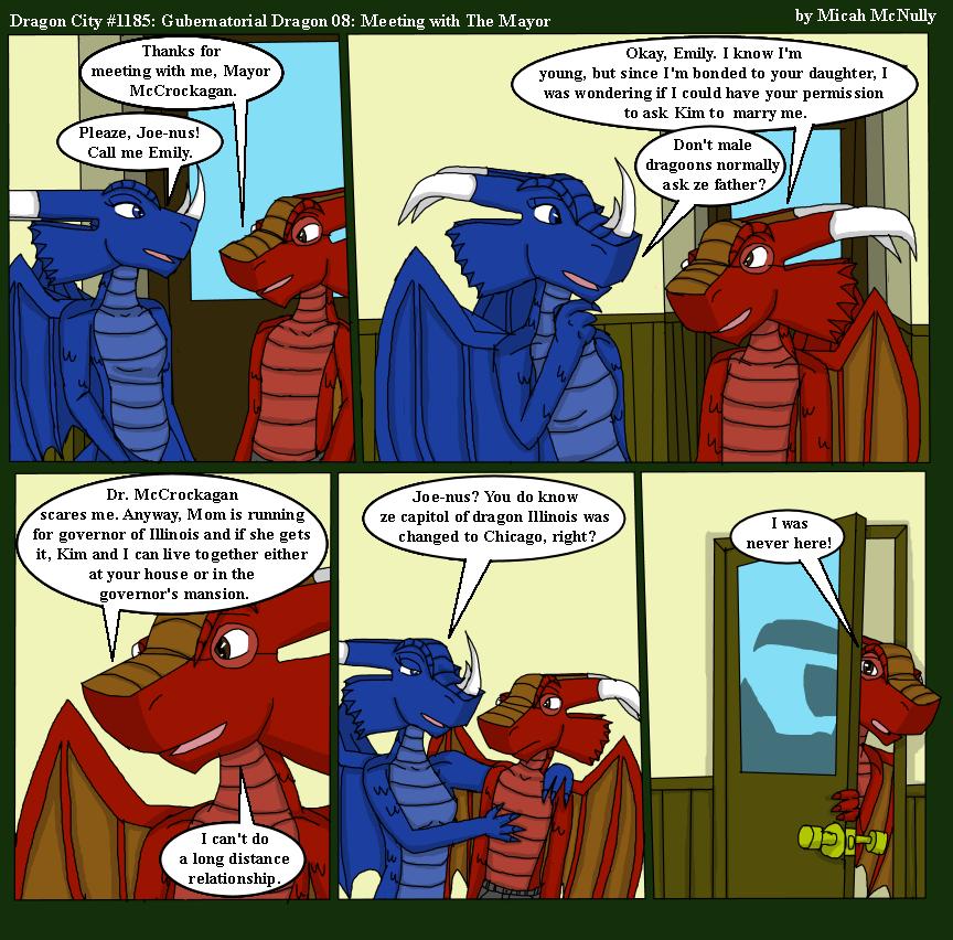 1185. Gubernatorial Dragon 08: Meeting with The Mayor