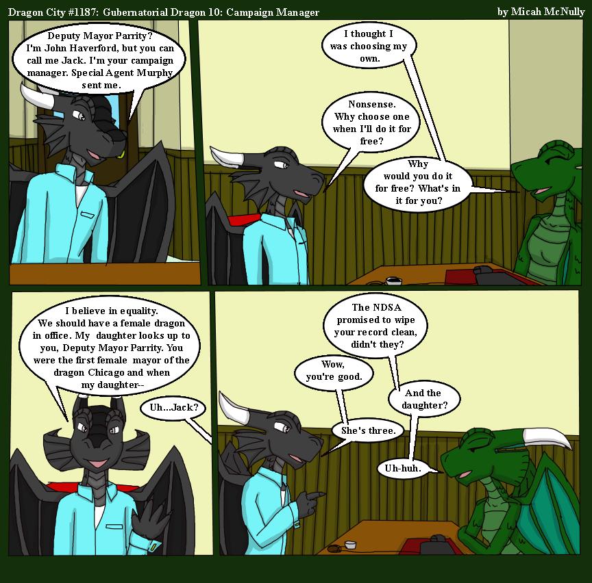 1187. Gubernatorial Dragon 10: Campaign Manager