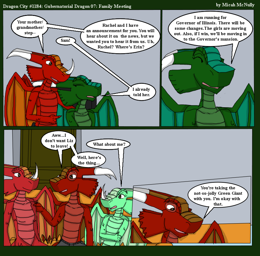1184. Gubernatorial Dragon 07: Family Meeting