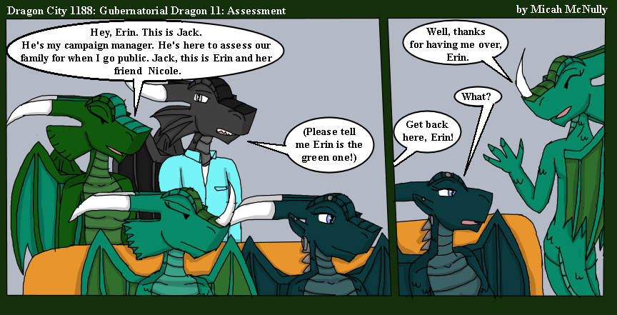 1188. Gubernatorial Dragon 11: Assessment
