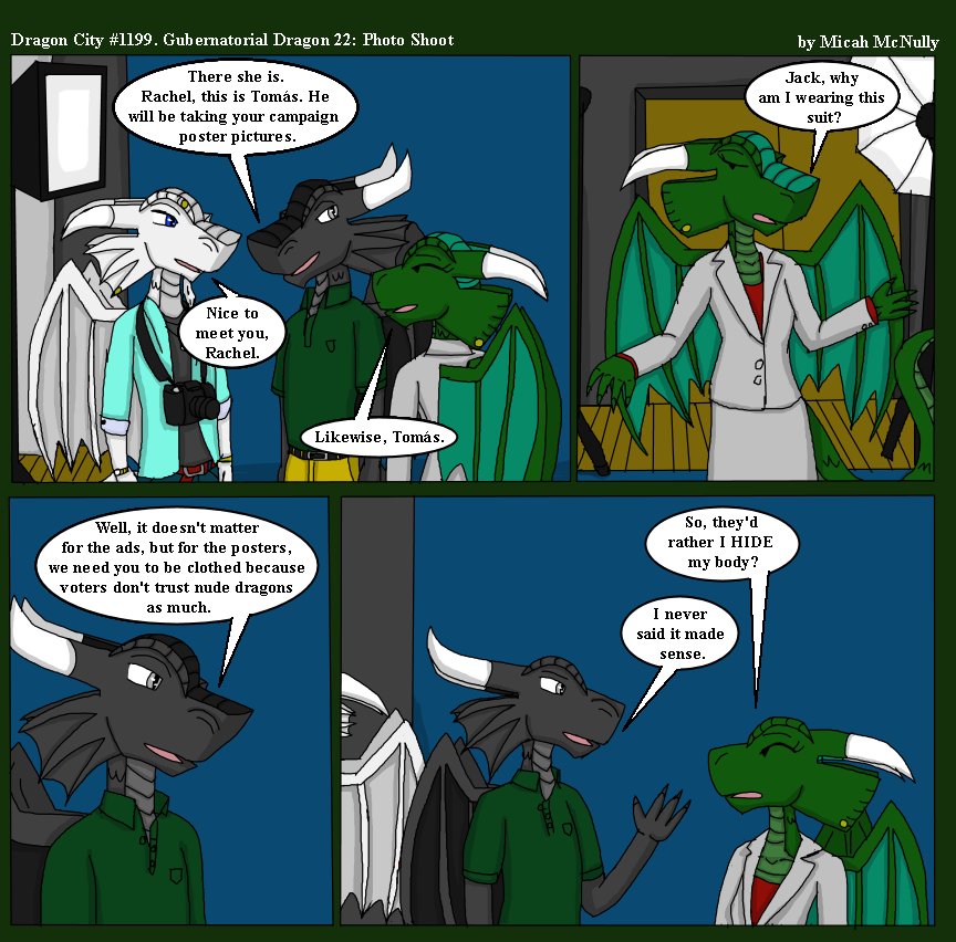 1199. Gubernatorial Dragon 22: Photo Shoot