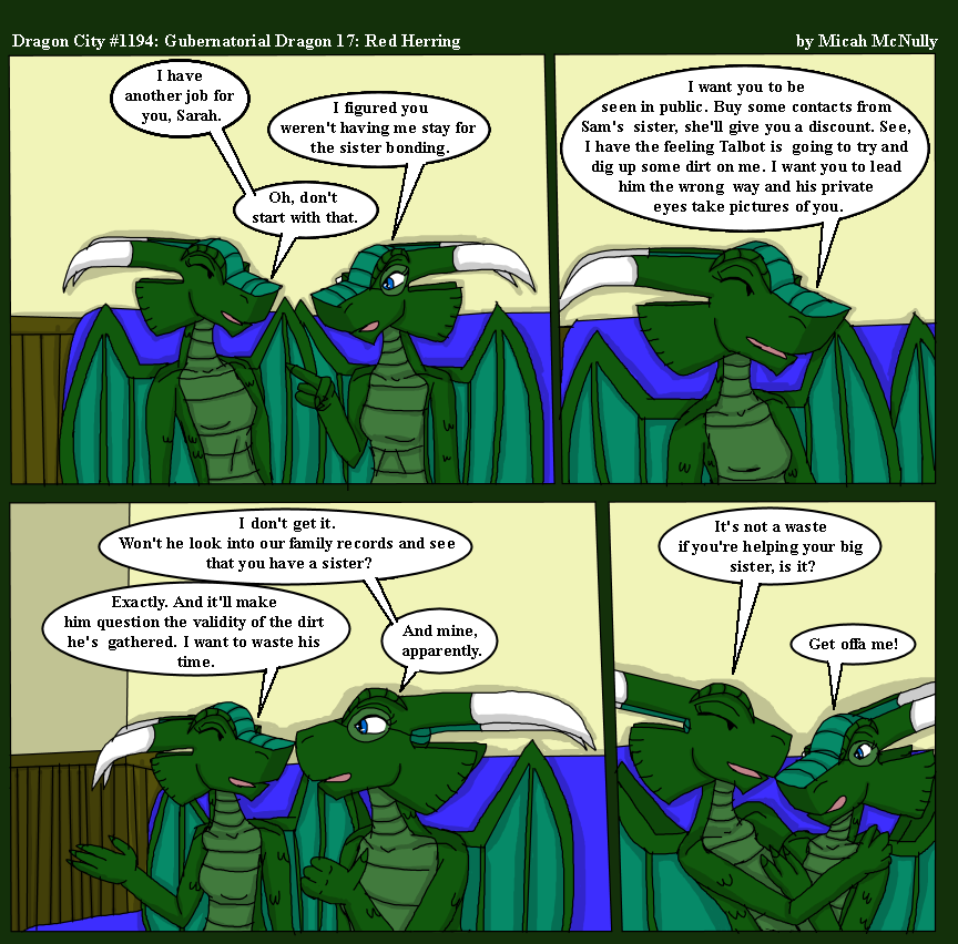 1194. Gubernatorial Dragon 17: Red Herring