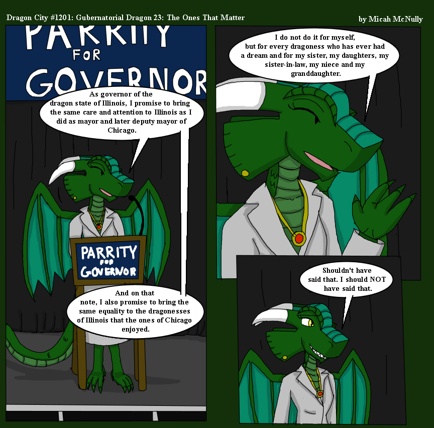 1201. Gubernatorial Dragon 23: The Ones That Matter