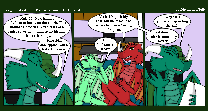 1216. New Apartment 02: Rule 34