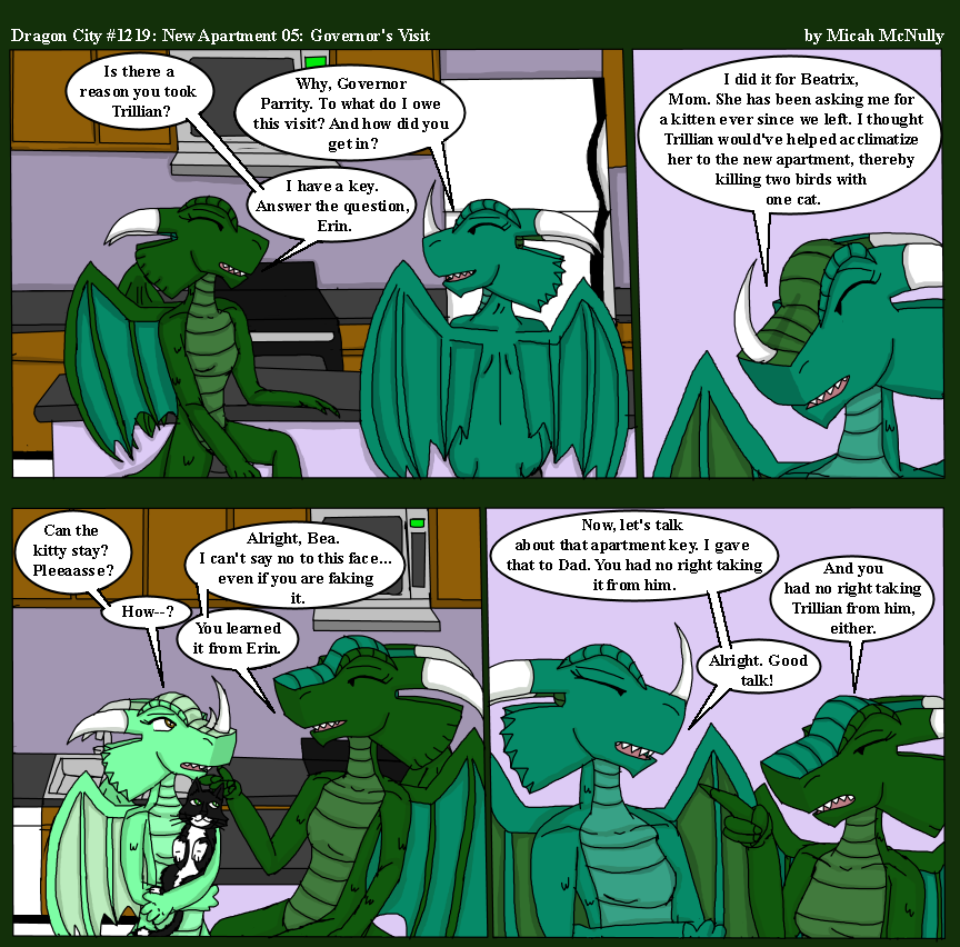 1219. New Apartment 05: Governor's Visit
