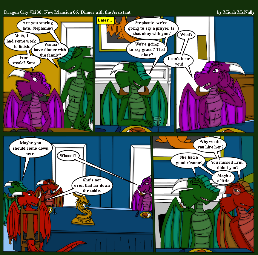 1230. New Mansion 06: Dinner with the Assistant