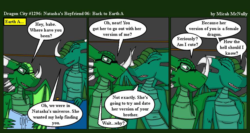 1296. Natasha's Boyfriend 06: Back to Earth A