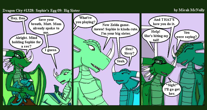 1328. Sophie's Egg 09: Big Sister
