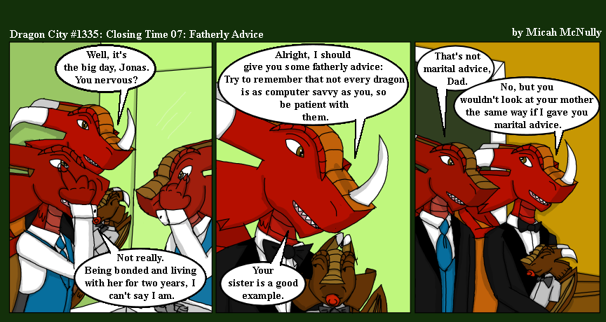 1335. Closing Time 07: Fatherly Advice